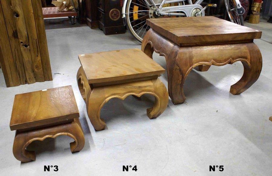 tables basses style opium h 20 40 cm. Black Bedroom Furniture Sets. Home Design Ideas