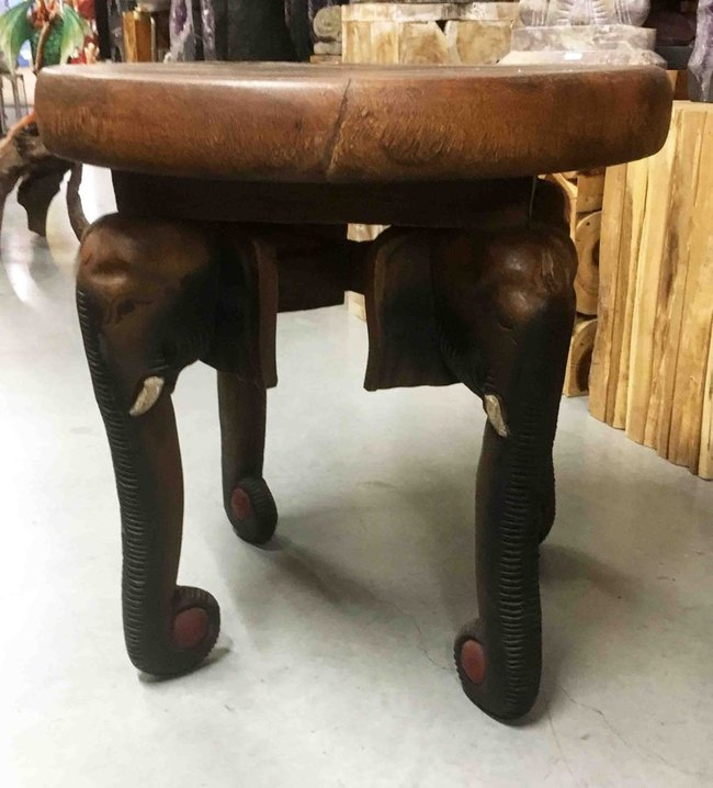 table basse bois elephant. Black Bedroom Furniture Sets. Home Design Ideas