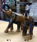 elephant en bois d 39 acacia h 13 ou 29 cm. Black Bedroom Furniture Sets. Home Design Ideas